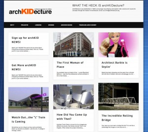 archKIDecture.org screen shot