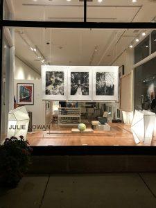 Julie Cowan exhibit at Vivid Gallery