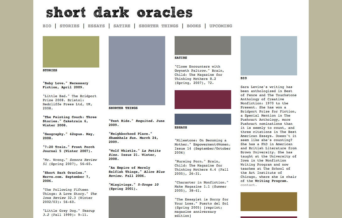 short dark oracles