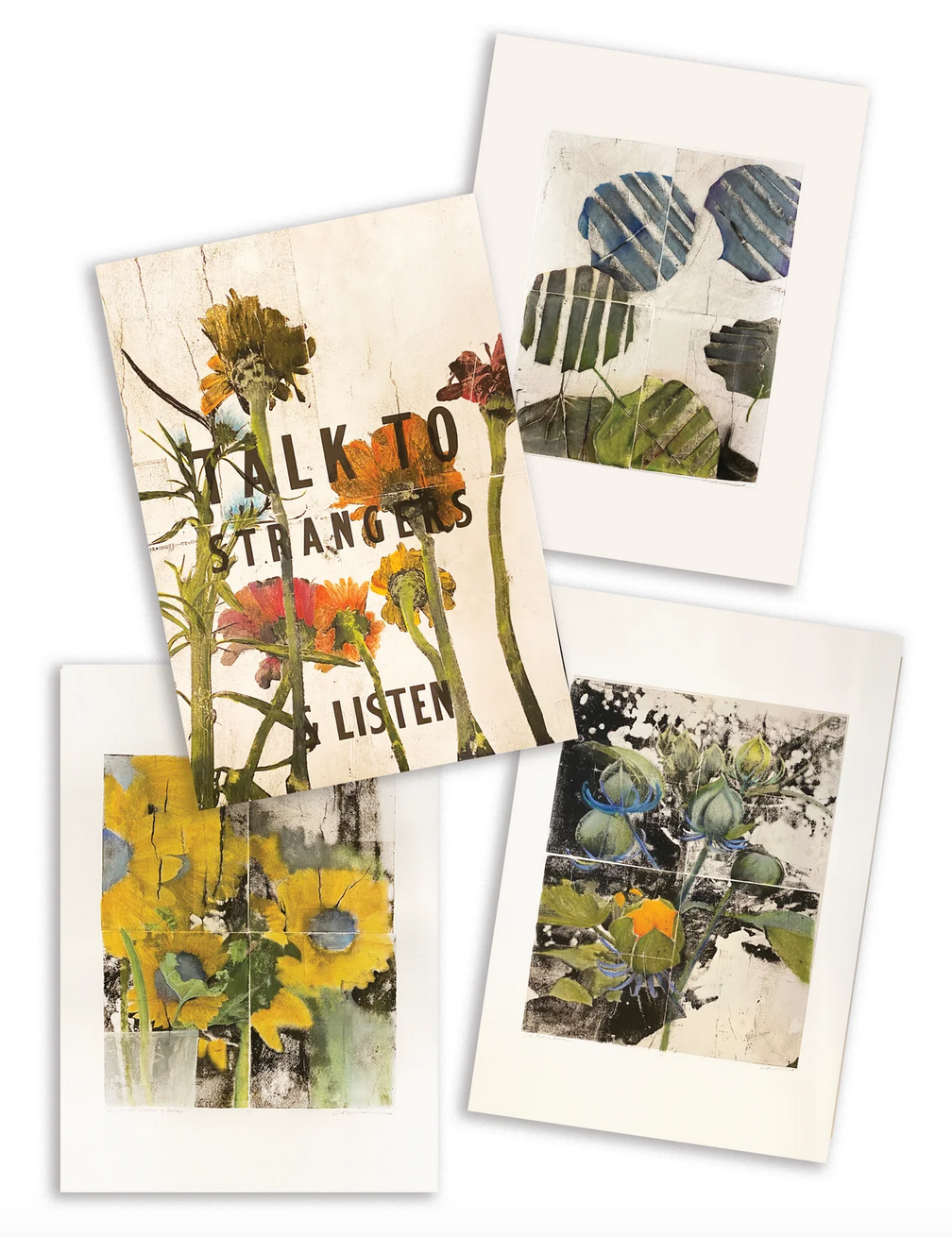 Solid Print art postcards for sale