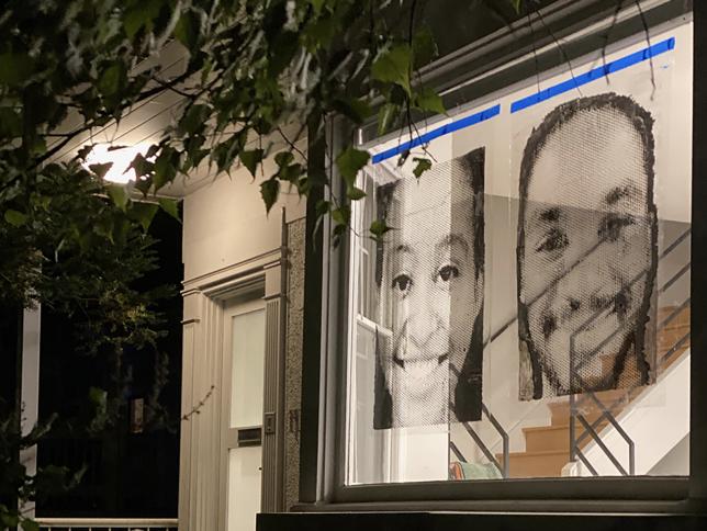 art in place artwork in windows by julie cowan