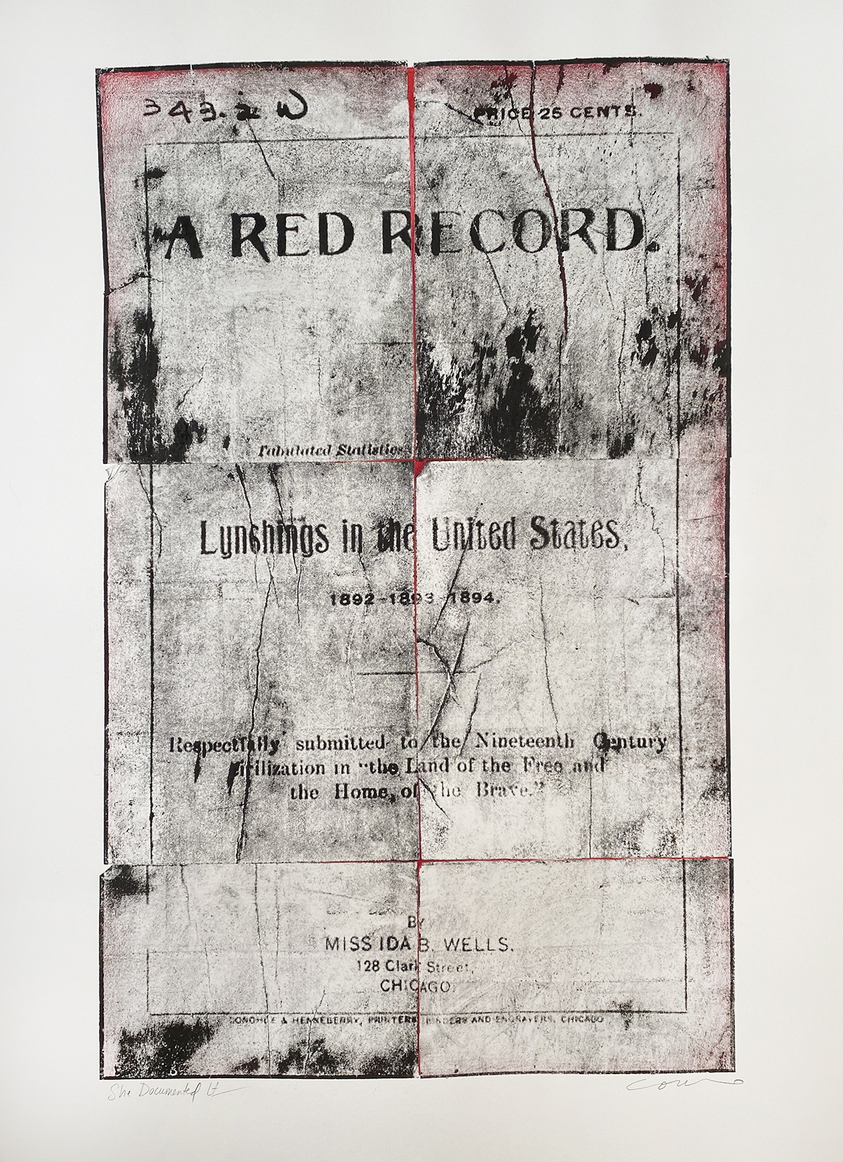 She Documented it: A Red Record